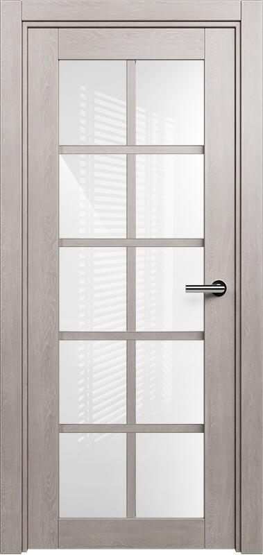 Коллекция Optima 123 Дуб   серый + триплекс белое