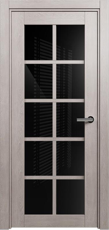 Коллекция Optima 123 Дуб   серый + триплекс черное