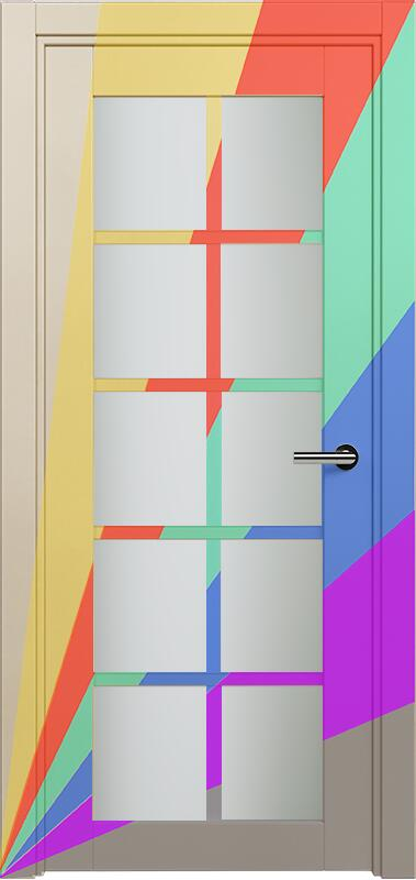 Коллекция Optima 123 Эмаль. Стандарт - RAL 7004,7015,1015,1019,9003.  Нестандарт - любой цвет по RAL. + сатинато белое