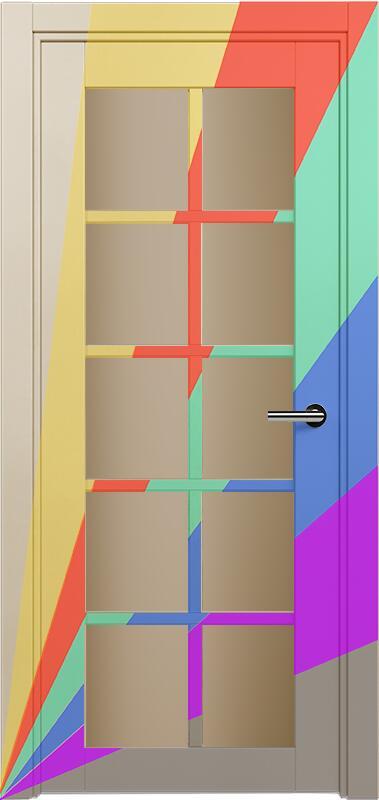 Коллекция Optima 123 Эмаль. Стандарт - RAL 7004,7015,1015,1019,9003.  Нестандарт - любой цвет по RAL. + сатинато бронза