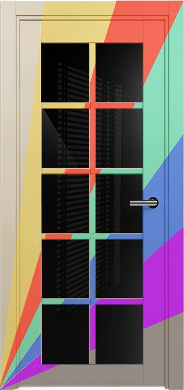 Коллекция Optima 123 Эмаль. Стандарт - RAL 7004,7015,1015,1019,9003.  Нестандарт - любой цвет по RAL. + триплекс черное