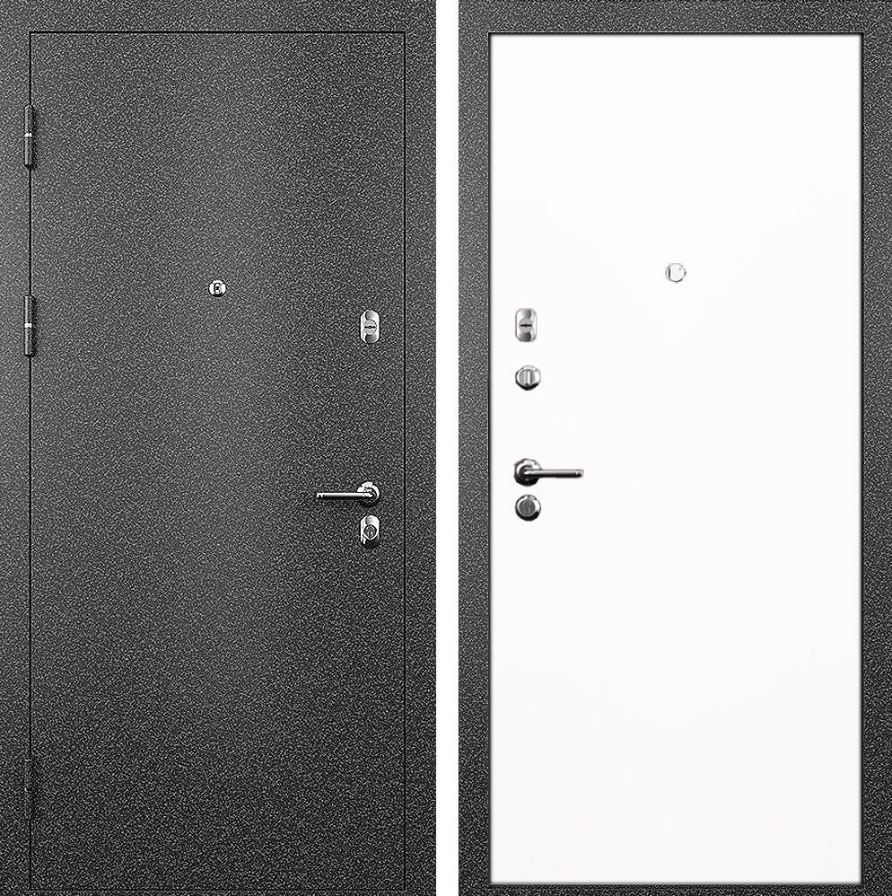 Коллекция Входные двери Статус М Престиж Белый   лёд