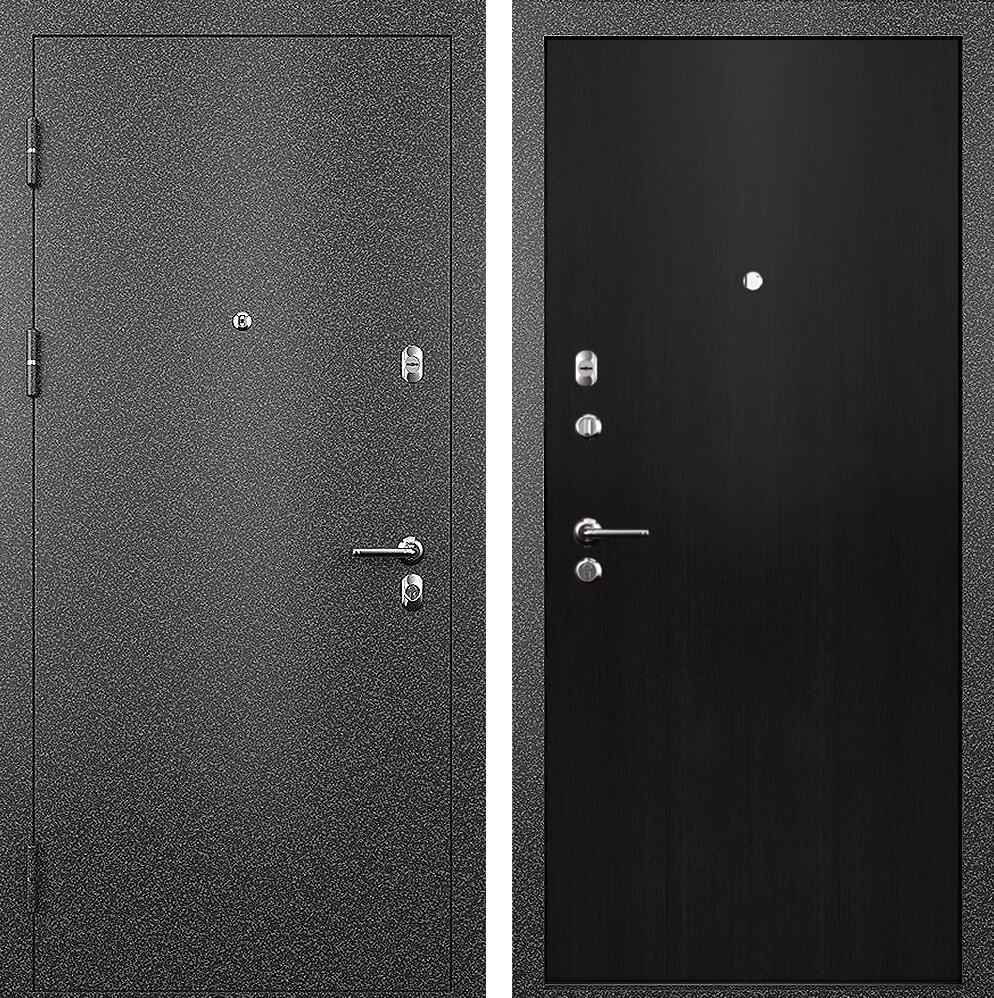 Коллекция Входные двери Статус М Престиж Дуб черный