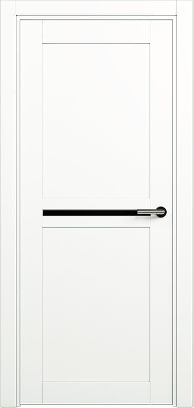 Коллекция Elegant 142 Белый   лёд + триплекс черный
