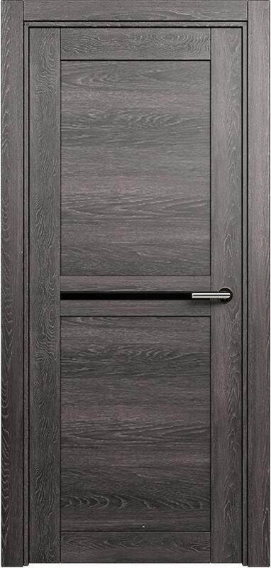 Коллекция Elegant 142 Дуб патина + триплекс черный