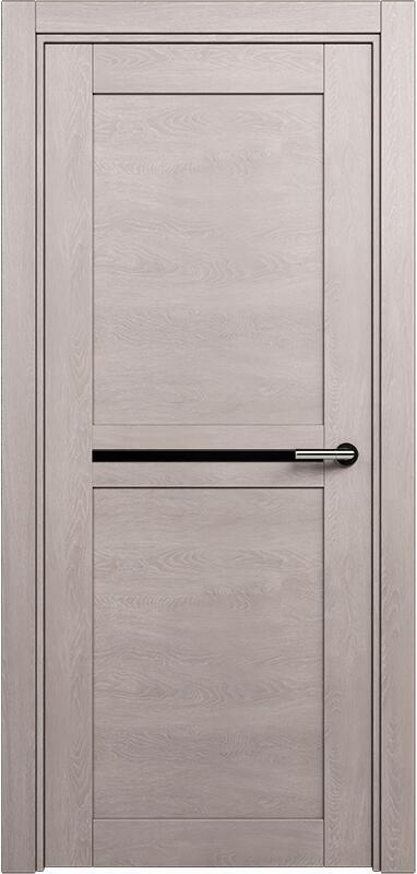 Коллекция Elegant 142 Дуб   серый + триплекс черный