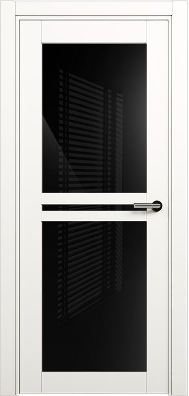 Коллекция Elegant 143 Белый   лёд + триплекс черный