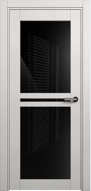 Коллекция Elegant 143 Дуб белый + триплекс черный