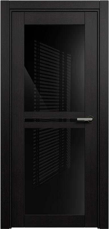 Коллекция Elegant 143 Дуб черный + триплекс черный