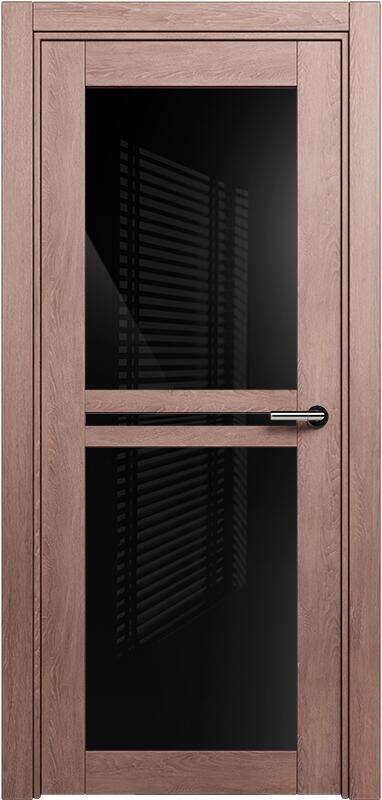 Коллекция Elegant 143 Дуб капучино + триплекс черный