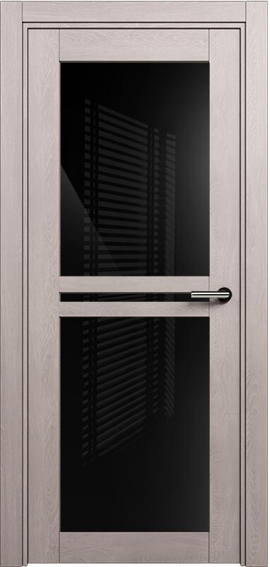 Коллекция Elegant 143 Дуб   серый + триплекс черный
