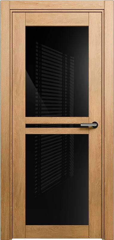 Коллекция Elegant 143 Дуб светлый + триплекс черный