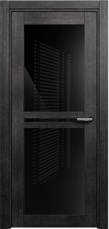 Коллекция Elegant 143 Венге пепельный + триплекс черный