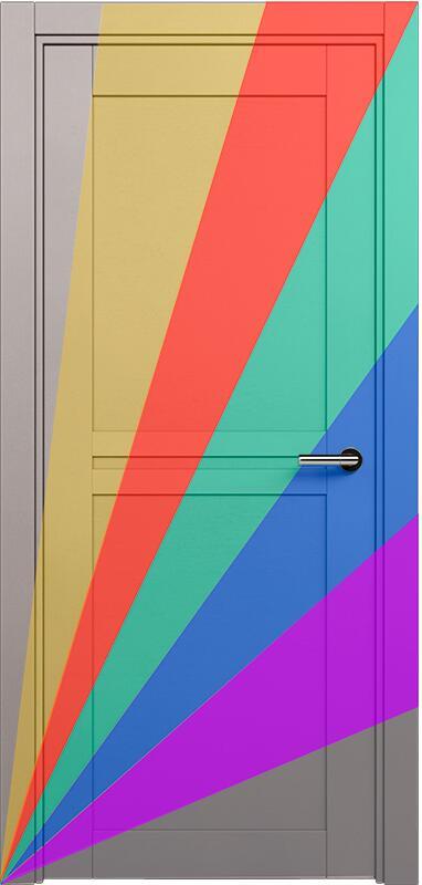 Коллекция Elegant 141 Эмаль. Стандарт - RAL 7004,7015,1015,1019,9003.  Нестандарт - любой цвет по RAL.