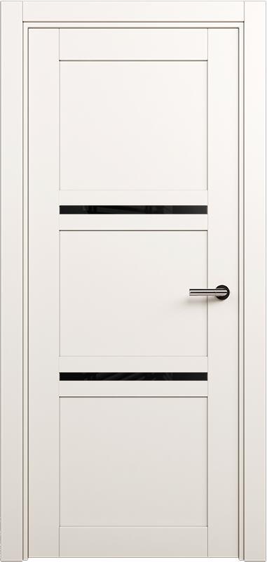 Коллекция Elegant 145 Белый   лёд + триплекс черный