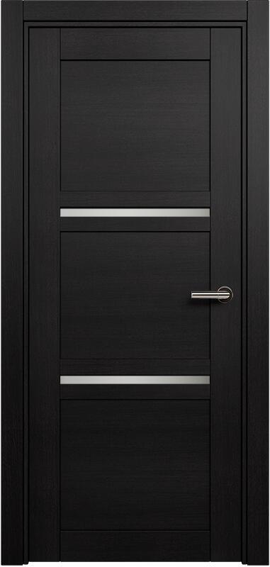 Коллекция Elegant 145 Дуб черный + сатинато белое