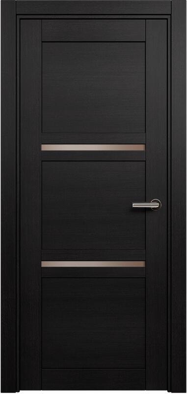 Коллекция Elegant 145 Дуб черный + сатинато бронза