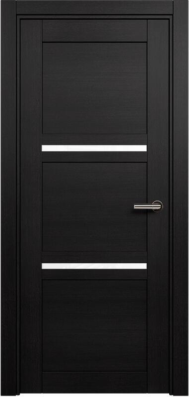 Коллекция Elegant 145 Дуб черный + триплекс белый