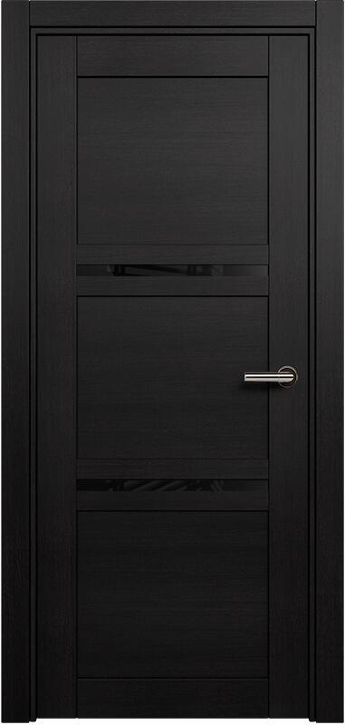 Коллекция Elegant 145 Дуб черный + триплекс черный