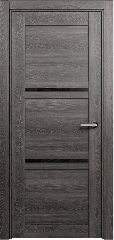 Коллекция Elegant 145 Дуб патина + триплекс черный