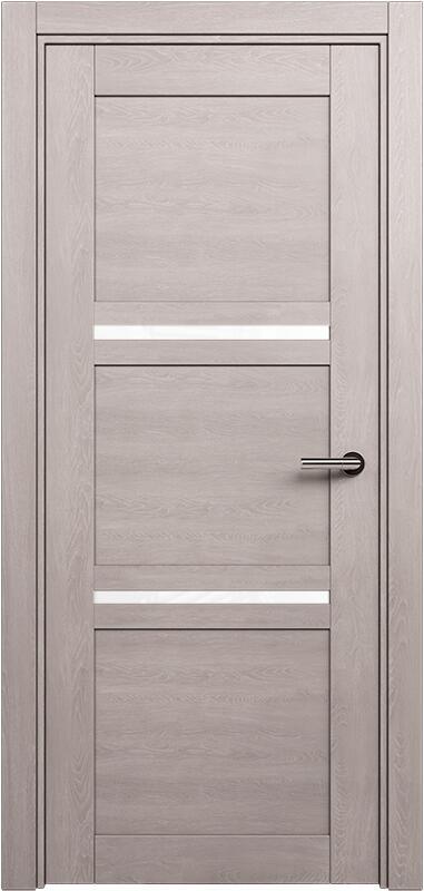 Коллекция Elegant 145 Дуб   серый + триплекс белый