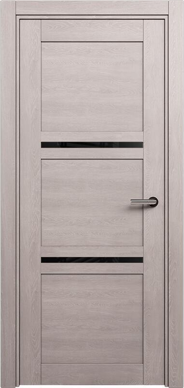 Коллекция Elegant 145 Дуб   серый + триплекс черный