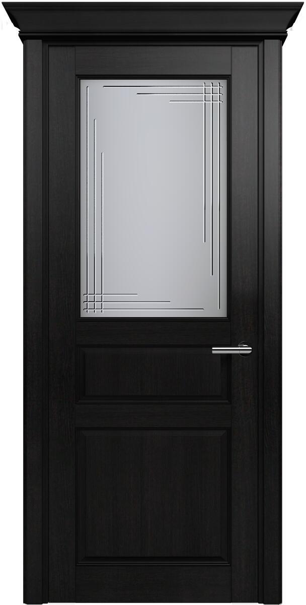 Коллекция Classic 532 Дуб черный + Алмазная гравировка грань