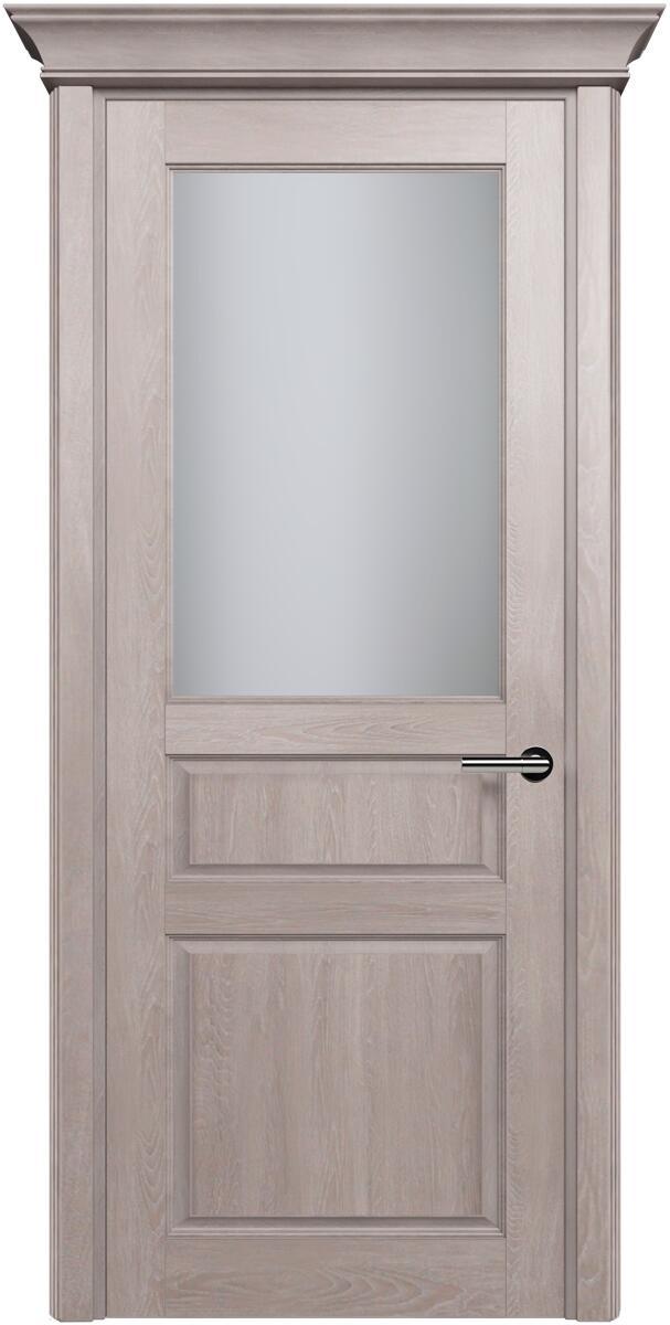 Коллекция Classic 532 Дуб   серый + Сатинато белое матовое