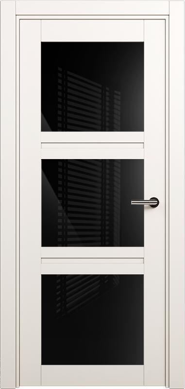 Коллекция Elegant 146 Белый   лёд + триплекс черный