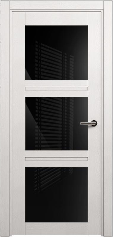 Коллекция Elegant 146 Дуб белый + триплекс черный