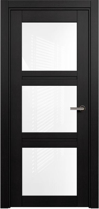 Коллекция Elegant 146 Дуб черный + триплекс белый