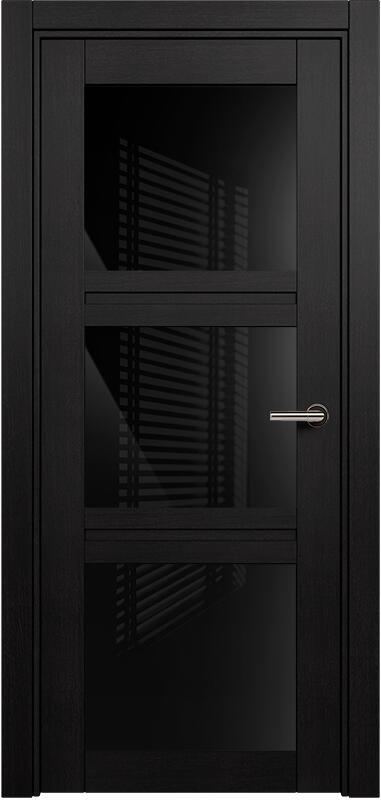 Коллекция Elegant 146 Дуб черный + триплекс черный