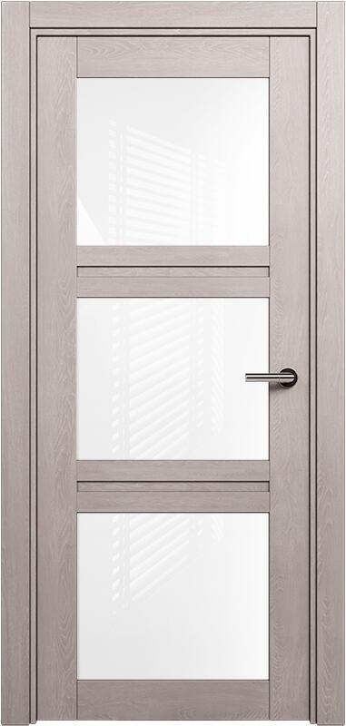 Коллекция Elegant 146 Дуб   серый + триплекс белый