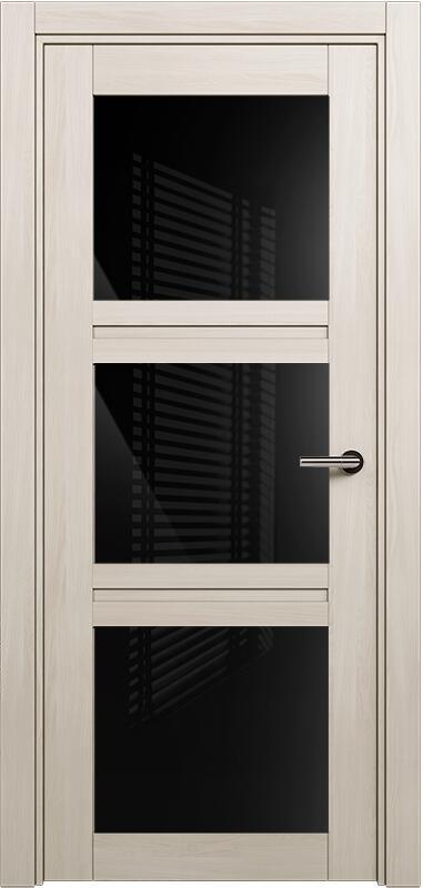Коллекция Elegant 146 Ясень + триплекс черный