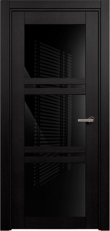 Коллекция Elegant 147 Дуб черный + триплекс черный