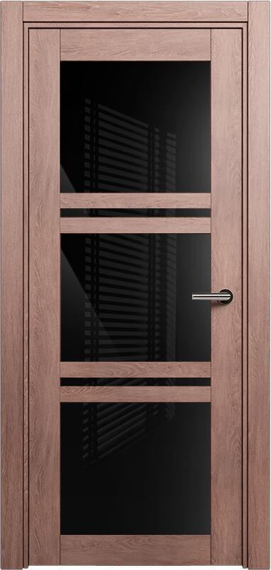Коллекция Elegant 147 Дуб капучино + триплекс черный