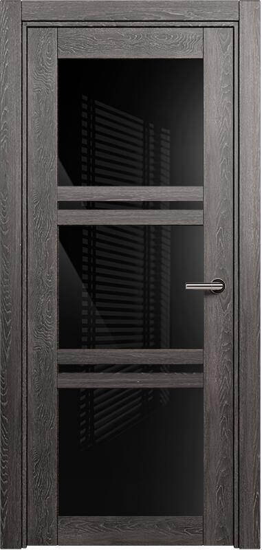 Коллекция Elegant 147 Дуб патина + триплекс черный