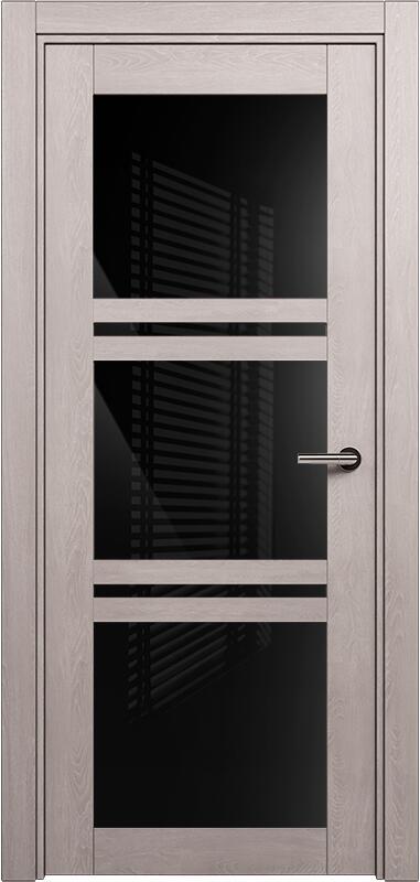 Коллекция Elegant 147 Дуб   серый + триплекс черный