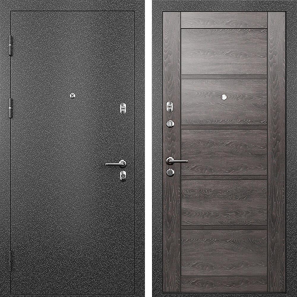 Коллекция Входные двери Статус М 112 Престиж Дуб патина