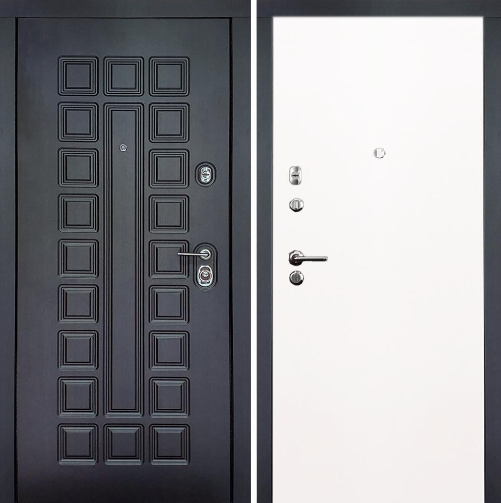 Коллекция Входные двери Статус М Престиж Люкс Белый   лёд
