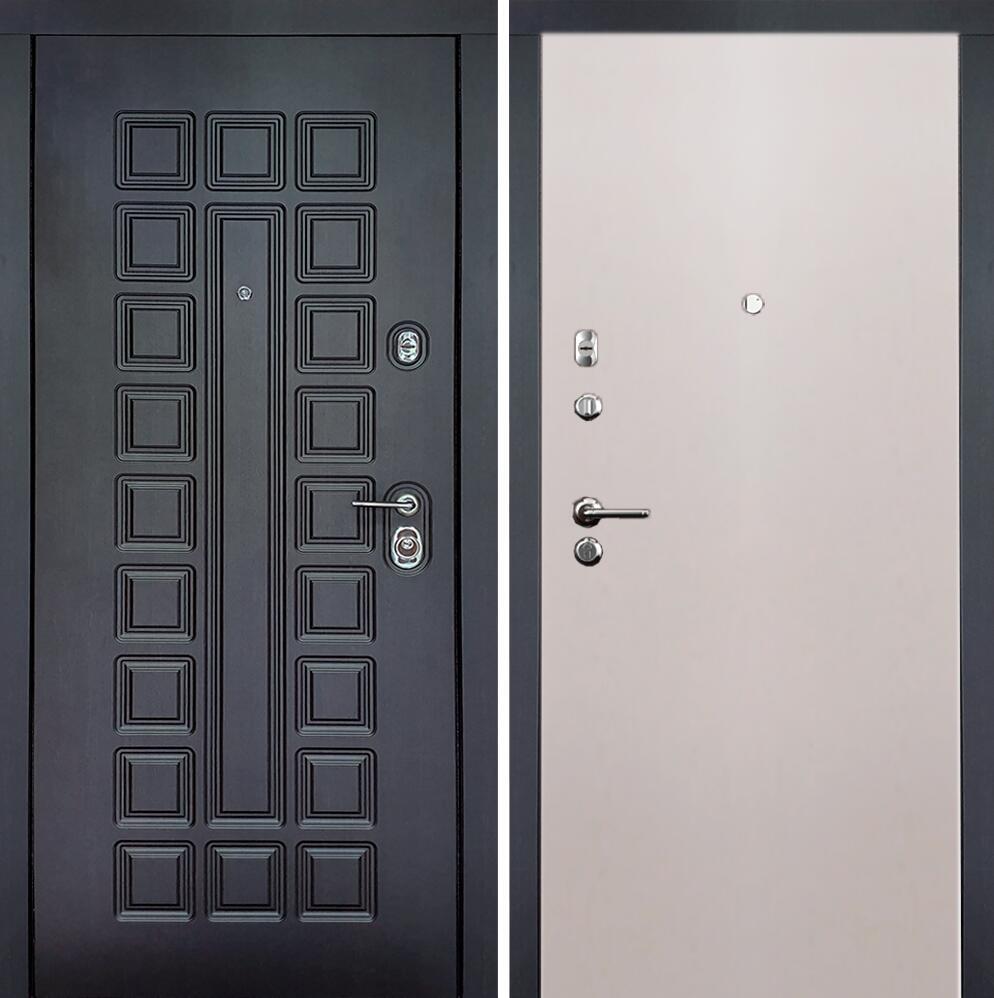 Коллекция Входные двери Статус М Престиж Люкс Белый жемчуг