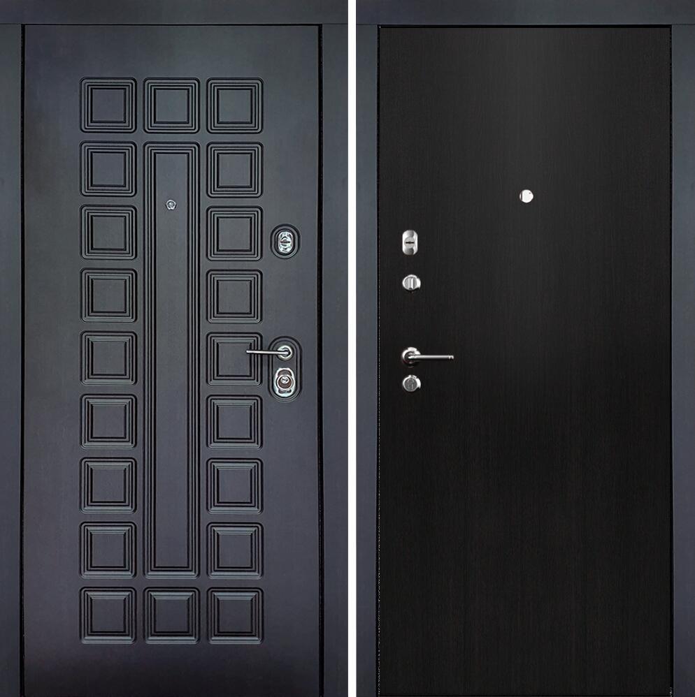 Коллекция Входные двери Статус М Престиж Люкс Дуб черный