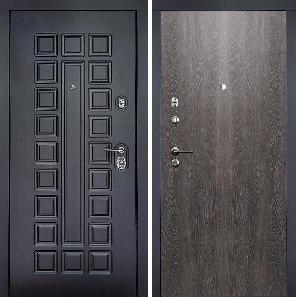 Коллекция Входные двери Статус М Престиж Люкс Дуб патина
