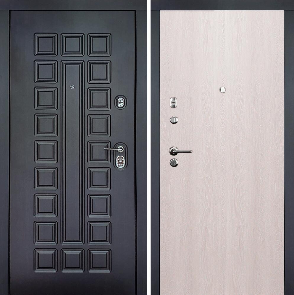 Коллекция Входные двери Статус М Престиж Люкс Дуб   серый