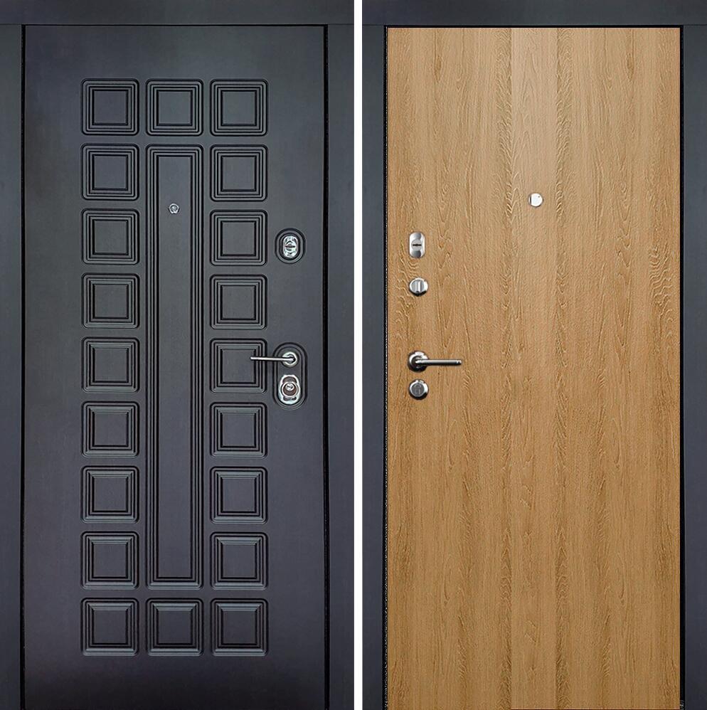 Коллекция Входные двери Статус М Престиж Люкс Дуб светлый