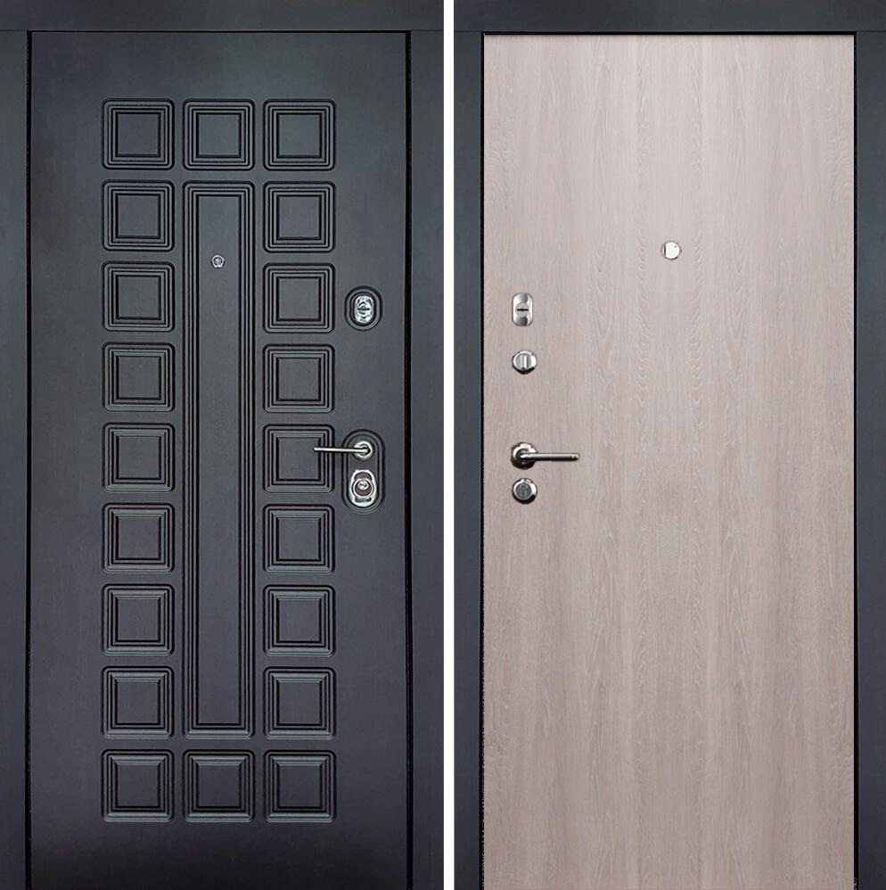 Коллекция Входные двери Статус М Престиж Люкс Грей