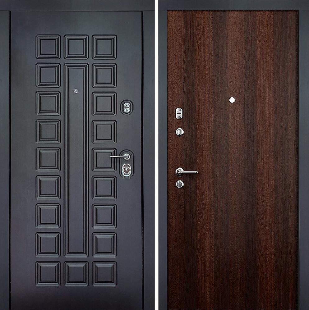 Коллекция Входные двери Статус М Престиж Люкс Орех