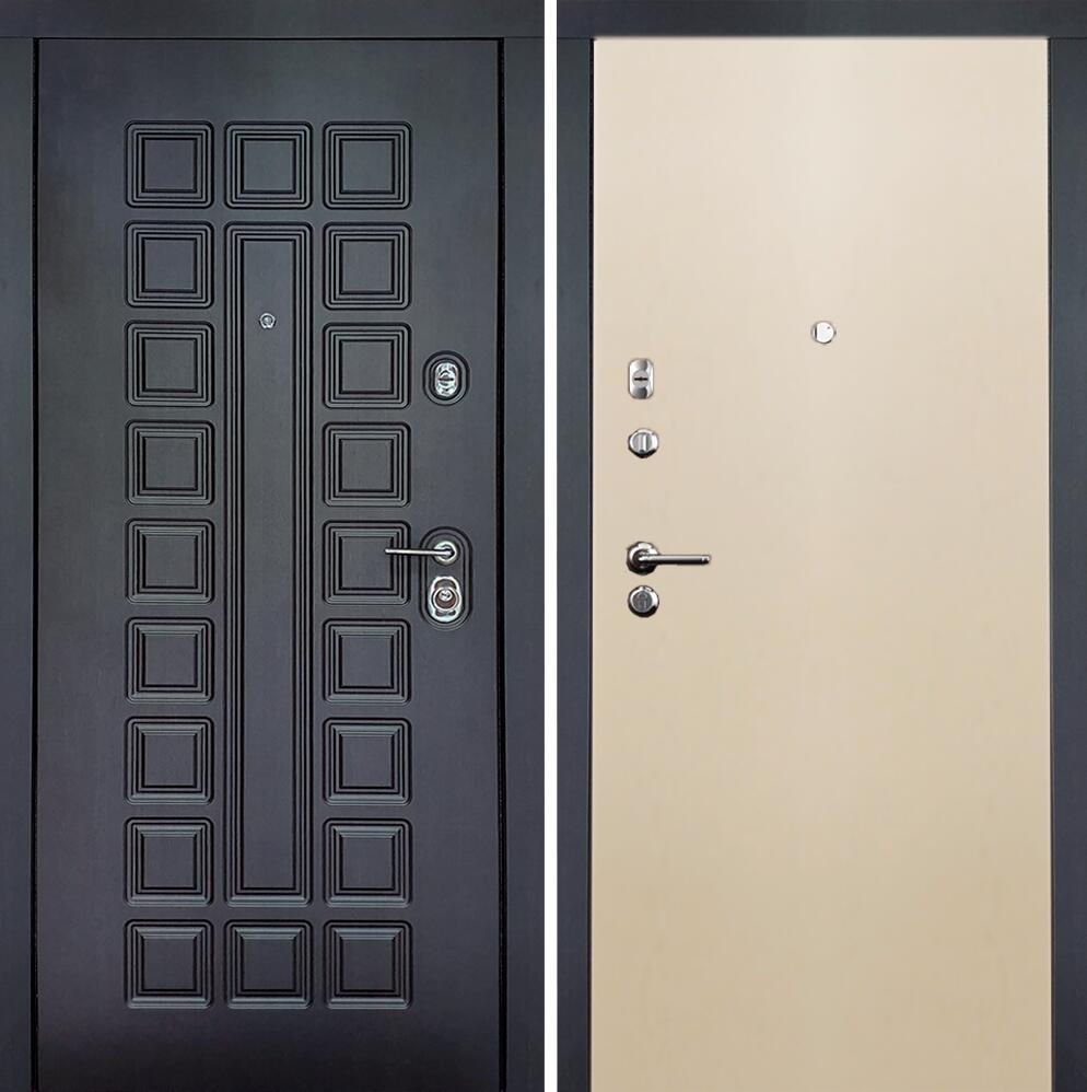 Коллекция Входные двери Статус М Престиж Люкс Слоновая кость