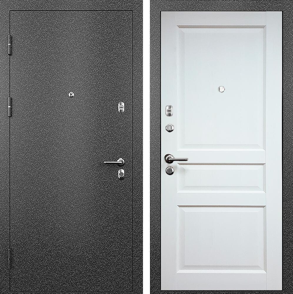Коллекция Входные двери Статус М 531 Престиж Белый   лёд