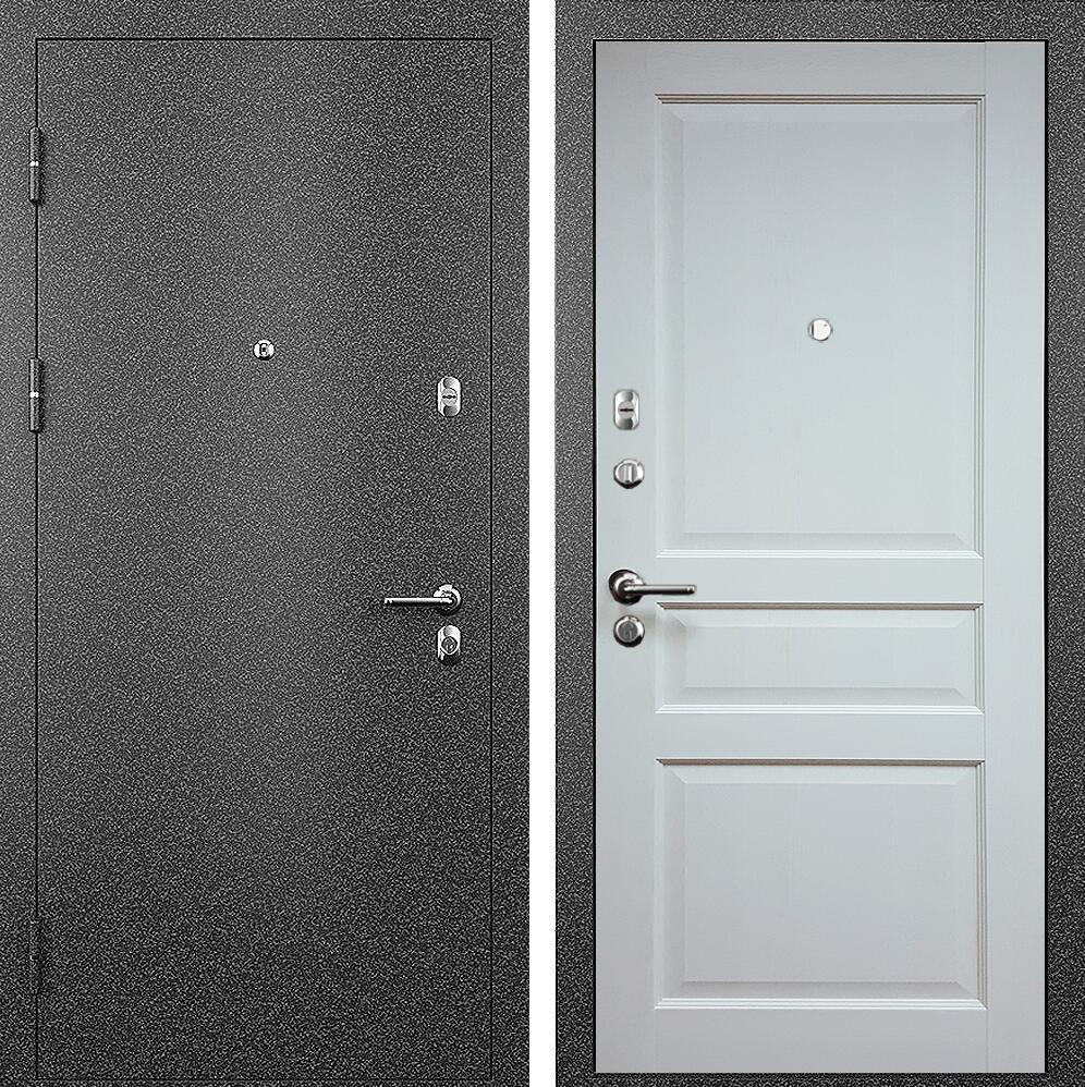Коллекция Входные двери Статус М 531 Престиж Белый жемчуг